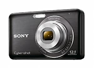Sony DSC-W310 12.1MP Digital Camera with 4x Wide Angle Zoom with Digital Steady Shot Image Stabilization and 2.7 inch LCD (Black)