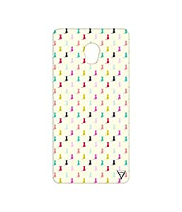 Vogueshell Cat Pattern Printed Symmetry PRO Series Hard Back Case for Lenovo Vibe P1