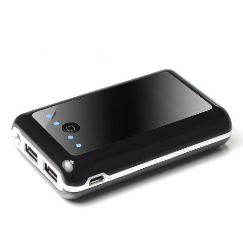 Anker Astro2 大容量モバイルバッテリー 8400mAh 5V/2A+1A 2USBポート同時充電 iPhone5S、5C、5、4S/iPad Air/iPad Mini Retina/iPad Mini/iPad/iPod/Galaxy/Xperia/ASUS/Android/各種スマホ wifiルータ等対応(日本語説明書付き)