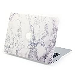 Gmyle Hard Case Print Frosted (Marble Pattern) for 13 inch MacBook Air - White Marble
