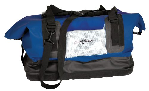 DRY PAK DP-D1BL Waterproof Duffel Bag, Blue, Large