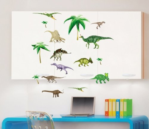 Comparamus kappierr dinosaurs t rex pterodactyl for Best 20 jurassic park wall decal