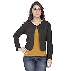Franclo Women's Shrug (Black, 32)
