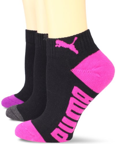 Image of PUMA Women's 3 Pair Pack Sorbteck Quarter Sock
