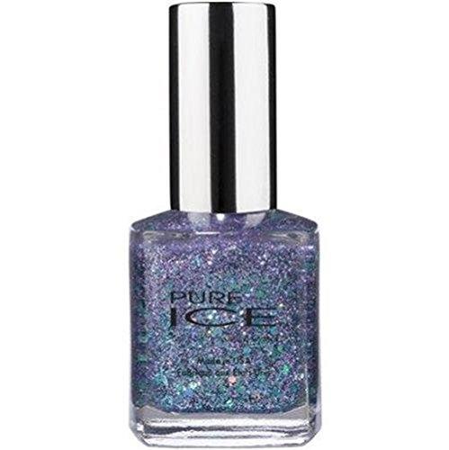 Bari Pure Ice Nail Polish, #1008 Over You (Multi-Colored Glitter Mix) 0.5 Fl Oz (Multi Colored Nail Polish compare prices)