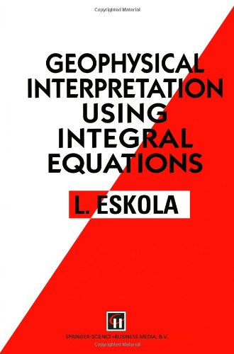 Geophysical Interpretation using Integral Equations
