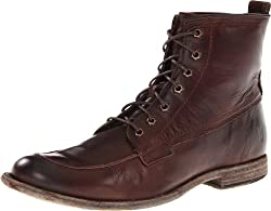 FRYE Men s Phillip Work Boot Dark Brown 10 M US