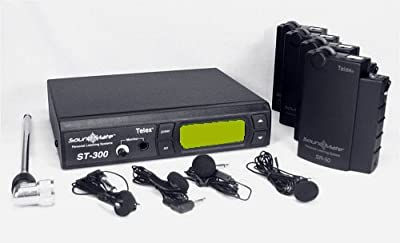 "SoundMate SM-2 Ch ""A"" Personal Listening System 72.1 MHz by TELEX"