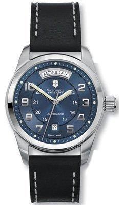 Victorinox Swiss Army Men's 241074 Ambassador Blue Dial Watch
