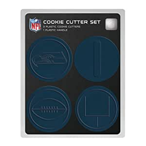 NFL Seattle Seahawks Officially Licensed Set of Cookie Cutters