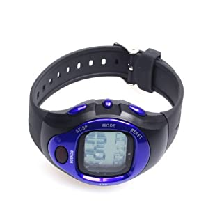 Digital Calorie Counter Pulse Heart Rate Fitness Monitor Watch