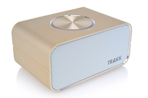TRAKK CEO New Model 24 Hours of Playtime Magnificent Universal Wireless Portable Bluetooth Speaker with Power Bank