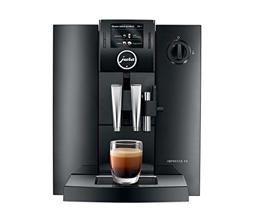 Jura IMPRESSA F8 TFT Fully Automatic Espresso Coffee Machine Aroma+ 12 Drinks, Piano Black (12 Volt Expresso Maker compare prices)