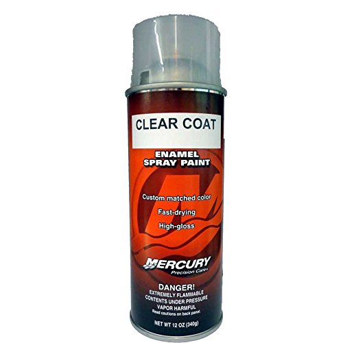 mercury precision clear coat spray paint 92 802878 53. Black Bedroom Furniture Sets. Home Design Ideas