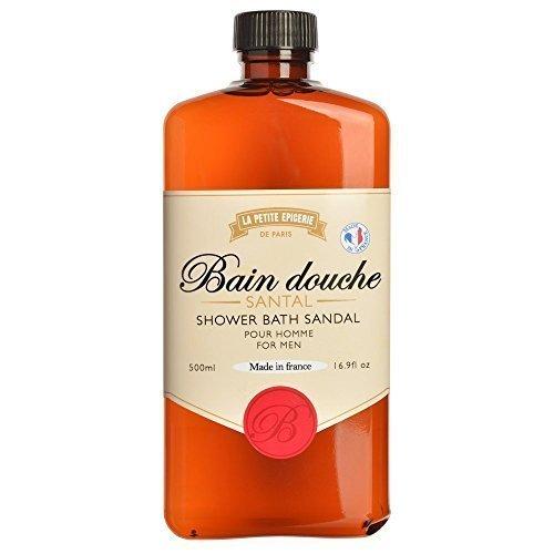Bouteille de Savon Gel douche Whisky Santal La petite épicerie de Paris 35-1S-805