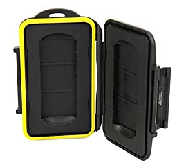 TPF Water-Resistant Holder Storage Memory Card Case For 2PCS SXS card