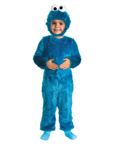 Baby-Toddler-Costume Cookie Monster Toddler Costume 2T Halloween Costume