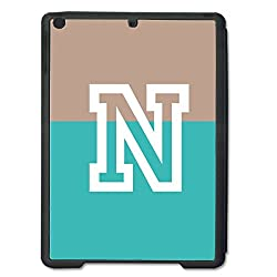 Skin4gadgets Dual Tone Spring Green and Brown name Alphabet N Tablet Designer SMART CASE for IPAD AIR1