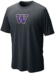 Drifit Logo Legend Washington Huskies Tee by Nike