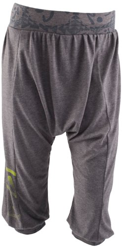 Zumba Fitness Women's Sunset Capri, Jet, Medium