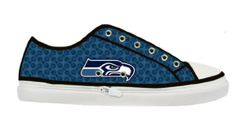 seahawks-logo-ladys-fashion-zippered-sneakers-with-special-design