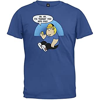 Family Guy - Mens Twinkie Poo T-shirt X-large Blue