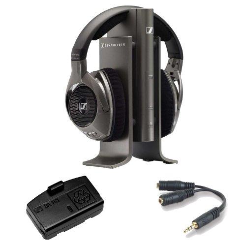 Sennheiser Rs-180 Digital Wireless Headphone System + Accessory Kit