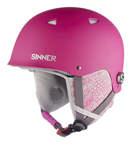 Sinner The Magic Childrens Ski Helmet Matte Pink Small rosa - Matte Pink
