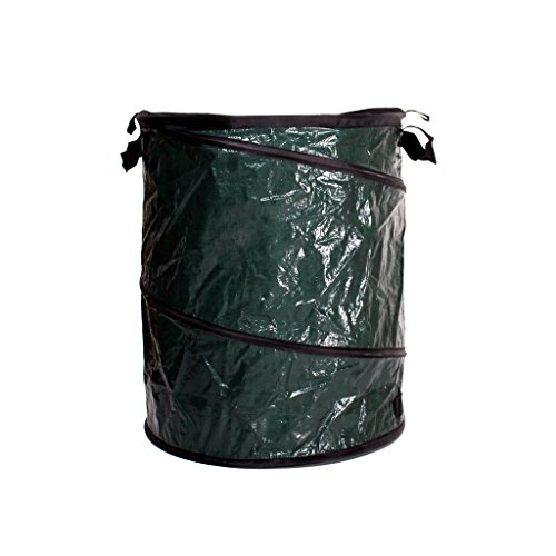Garkit Gardening Container Lawn Leaf Bag Bin Cleanup Holder