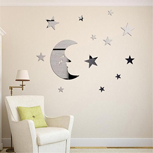 stars-and-moon-combination-3d-mirror-wall-stickers-baonoopy-home-decoration-silver