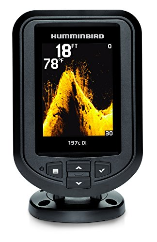 Humminbird 409690-1 PiranhaMax 197C DI Color Fish Finder with Down-Imaging (Grey) primary