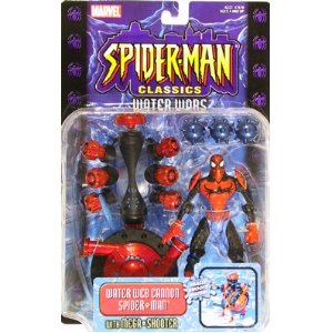 Spider-Man Classics Water Wars Web Cannon Spider-Man Figure - 1