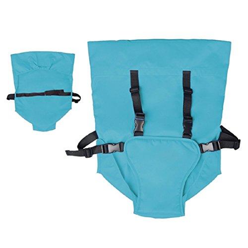 5-Punkt-Baby-Sitz-mit-Sicherheitsgurt-fr-Esstisch-Sthle-oder-Hochsthle-blau