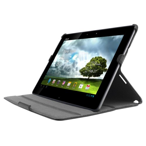 MiniSuit Multi-Angle Cover-Case-Stand for ASUS Transformer Infinity TF700/TF700T (PU Leather Black)