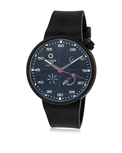 Meccaniche Veloci Men's W126K195 Black/Navy Titanium Rubber Watch