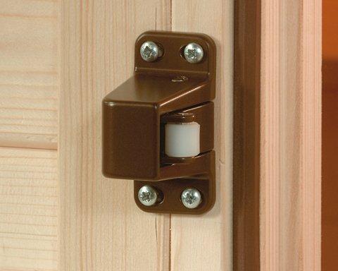 Weka-Sauna-Rollverschluss-Auen-Exklusive-Weka-Rollverschluss-Farbe-Braun-Schraubensatz-Inklusive-Ausfhrung-naturbelassen-Material-Sauna-Spezialholz