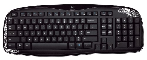 Logitech Wireless Keyboard K250 (Dark Fleur)