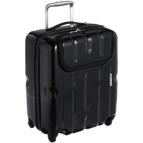 [ワールドトラベラー] World Traveler ワールドトラベラー ディラトンポケット スーツケース 46cm・40リットル・2.7kg 05807 01 (ブラック)