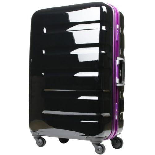 T&S legend walker レジェンドウォーカー スーツケース TSAロック搭載 ポリカーボネート100% キャリーケース 小型 SSサイズ 機内持込サイズ 6016-47 (ブラック・パープル)