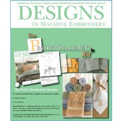 Great Deal! The Perfect Placement Kit, 2nd Edition by Designs in Machine Embroidery