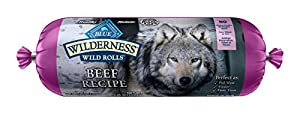 Wilderness Blue Buffalo Beef Roll Wet Dog Food, 2.25 lb