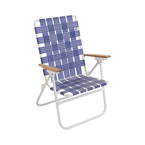 Gentil 250 Lbs Rated Web Lawn Chair Big Man Style