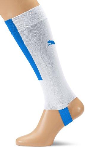 PUMA Herren Stutzen Football Socks with Stirrups, White/Puma Royal, 2, 701946 13