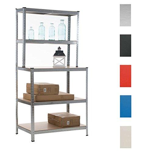 clp-scaffale-ad-alta-portata-con-banco-di-lavoro-in-metallo-zincato-portata-875-kg-5-colori-200-x-10