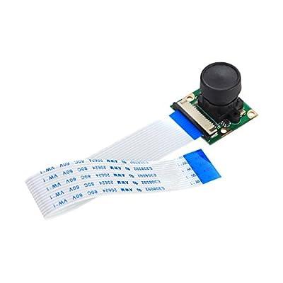 Raspberry Pi Camera Module Board 5MP 160 Wide Angle Fish Eye Lenses