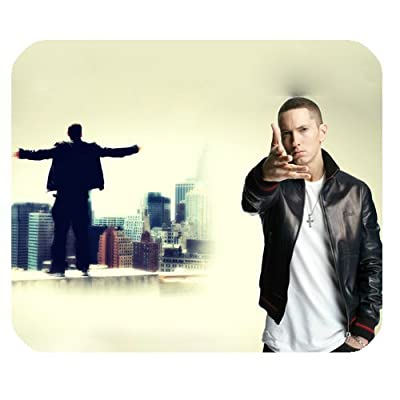 Rectangle Customized Mouse Pad Standard Mouse Pad Mat Hot Eminem Pattern