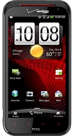 HTC Rezound, Black 16GB (Verizon Wireless)