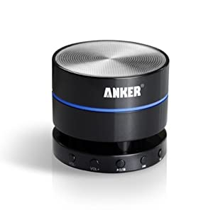 Anker® Ultra Portable Wireless Bluetooth Speaker with Built-In Mic, Enhanced Bass Boost, 10 Hour Rechargeable Battery and a 3.5mm Aux Port - A7901