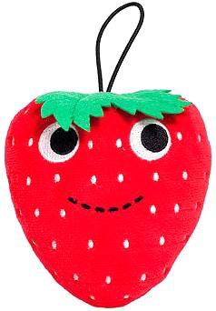 """Yummy World Small 4"""" Sassy Strawberry Designer Plush - 1"""