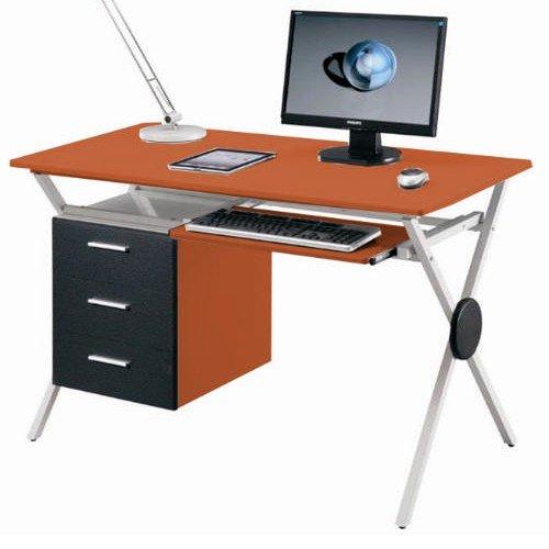 Scrivania in MDF portacomputer per ufficio cameretta 120x60
